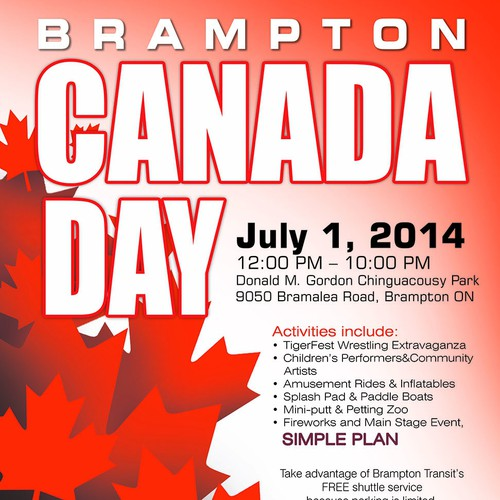 Canada's annual birthday celebation! What would your invitation look like?