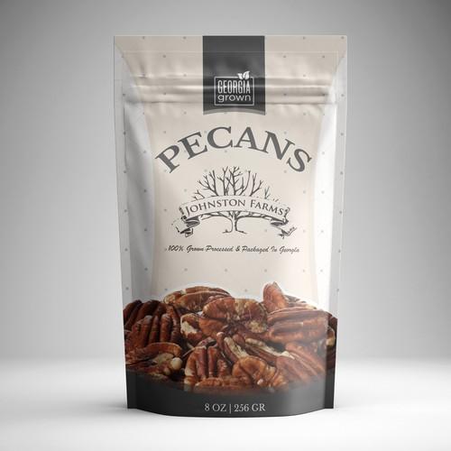 Nut & Seed Foil Package design