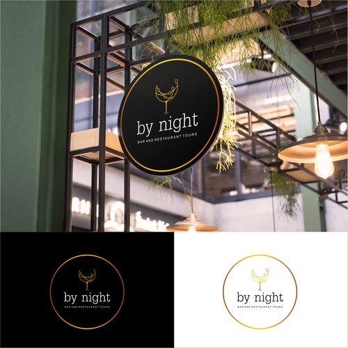 by night bar and restaurant