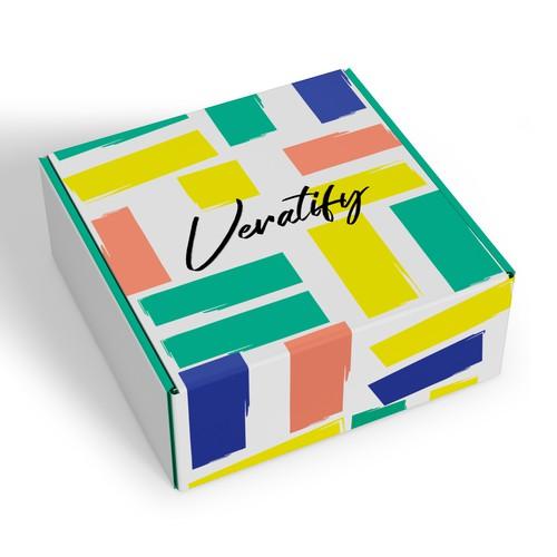Veratify Packaging Design