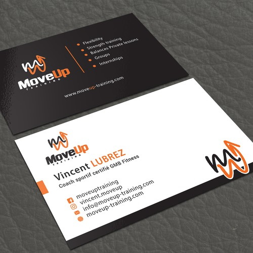 MoveUp's Business Card