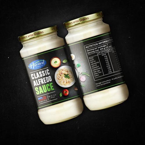 Classic alfredo sauce