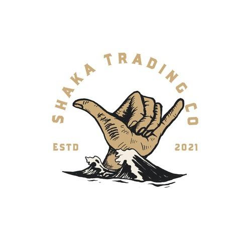 Shaka Trading co logo