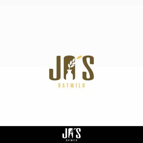 Design logo for Jo's Oatmilk