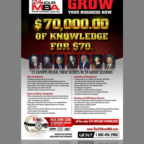 The 24 Hour MBA Flyer