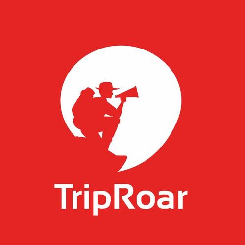 Create a roaring logo for TripRoar!