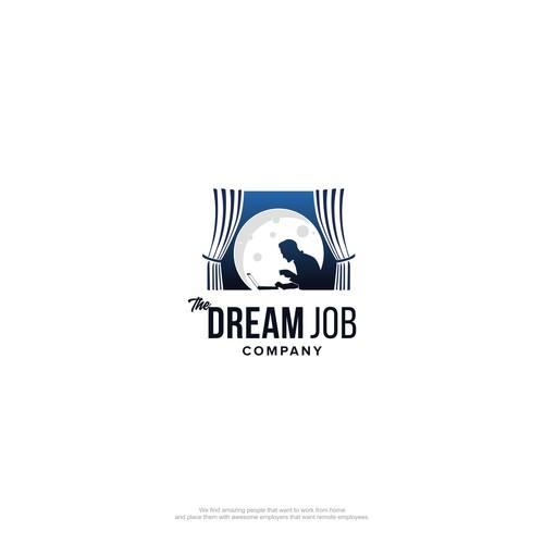 The Dream Job Company logo design