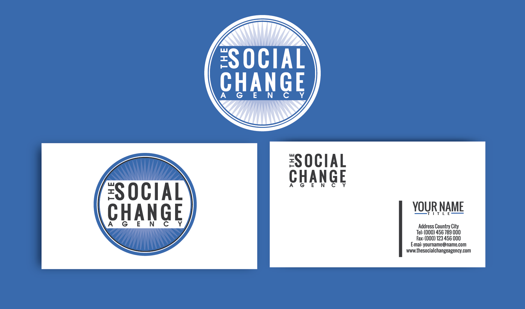 The Social Change Agency needs a new logo and business card