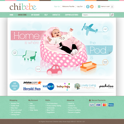 Banner Ads for ChiBebe