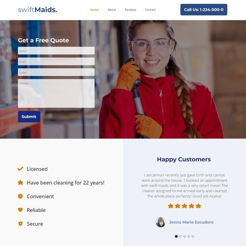 swiftMaids Homepage
