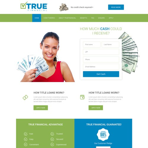 Finance Company Site