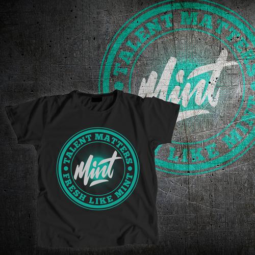 Design a dope t-shirt for a DJ & talent company