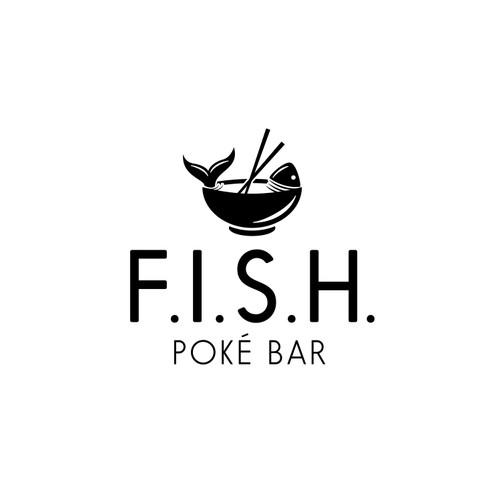 Logo Concept for F.I.S.H. Poke Bar