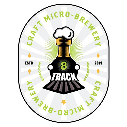 8 Track Brewery Logo