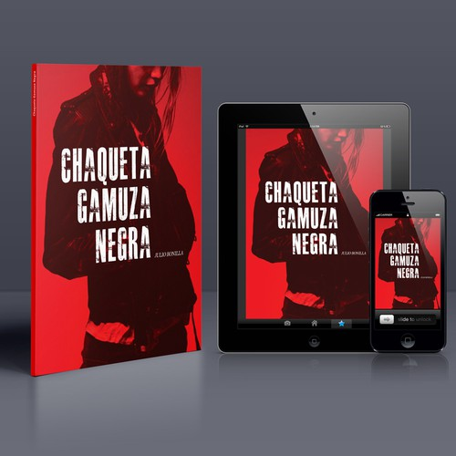 Chaqueta Gamuza Negra, Kindle Book Cover
