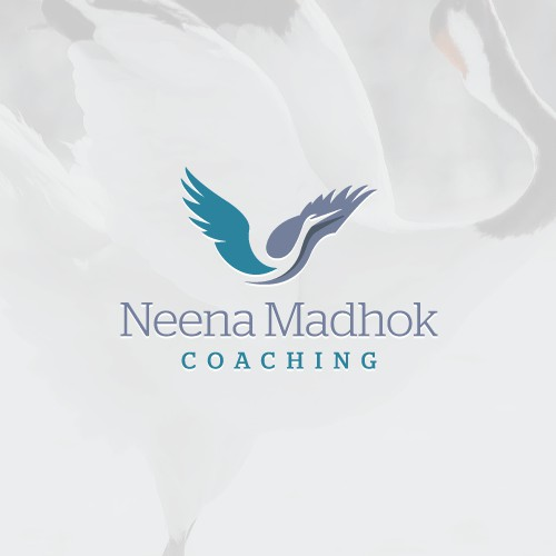 Uplifting logo for life coach