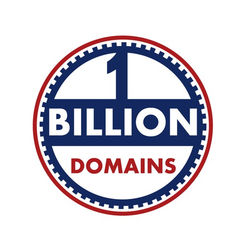 1 BILLION DOMAINS needs a new logo