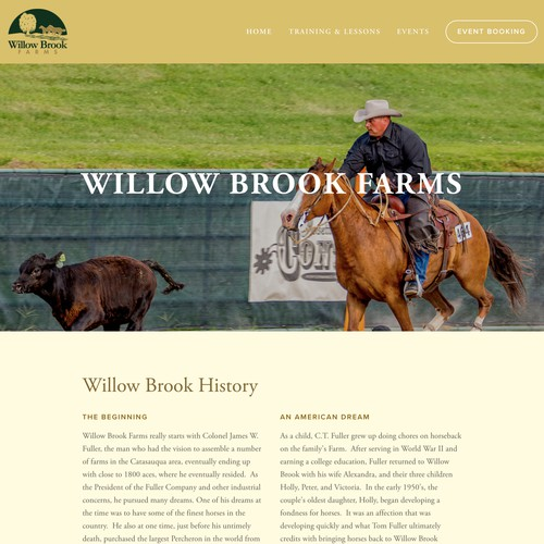 Willow Brook Horse Farms