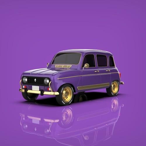 Classic car luxury look
