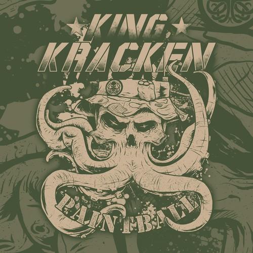 Skull King Kracken clothing