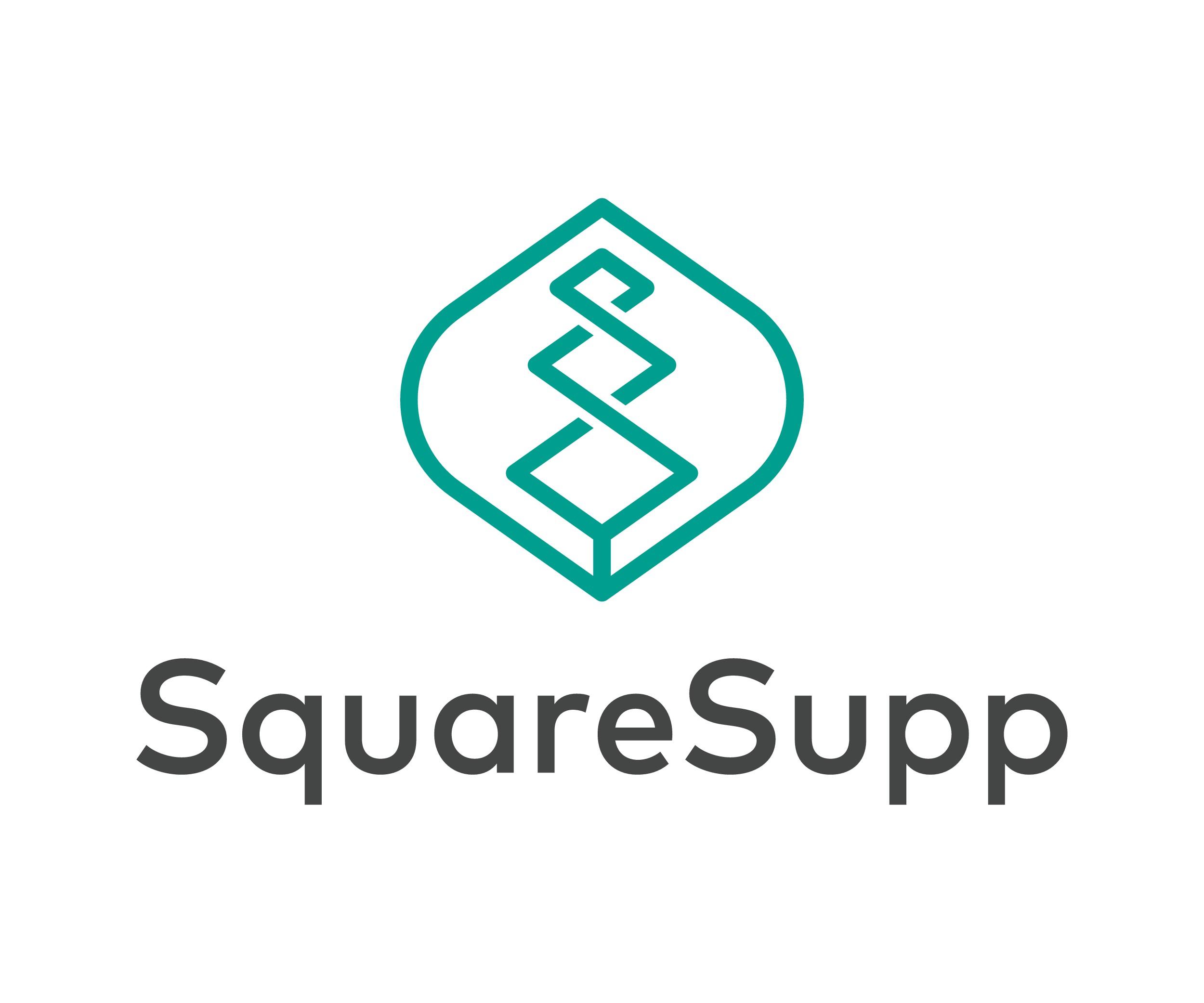 Design a distinctive logo for SquareSupp (the next generation of supplementation)