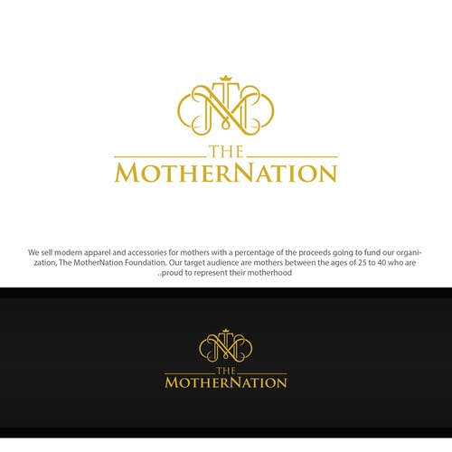 shophisticated logo to represent their motherhood