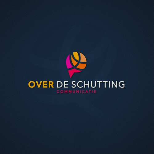 """Over de schutting"" logo"