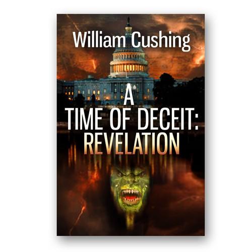 Book cover for thriller/sci-fi-/fantacy novel