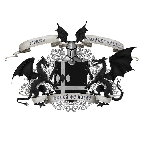 Personalized Medieval Style Coat of Arms