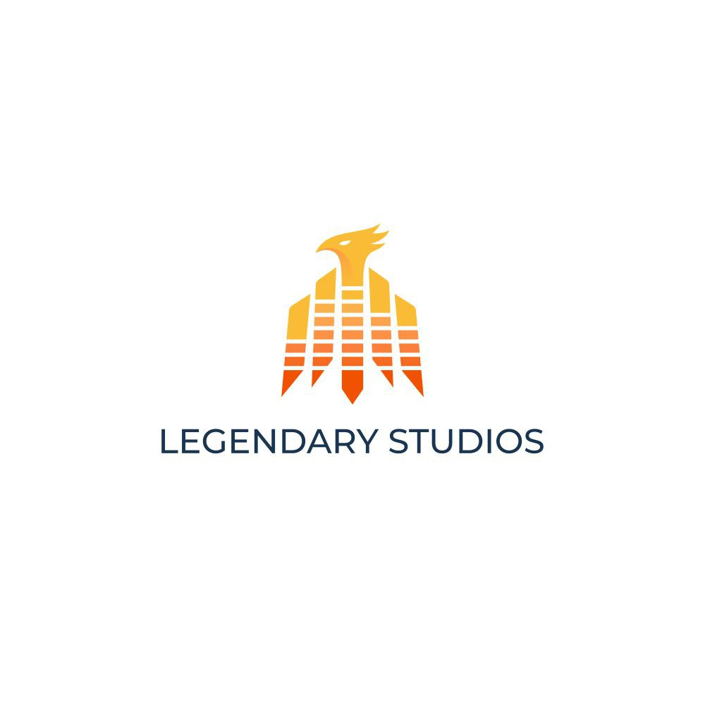 Modern logo for a music/video recording studio with a twist
