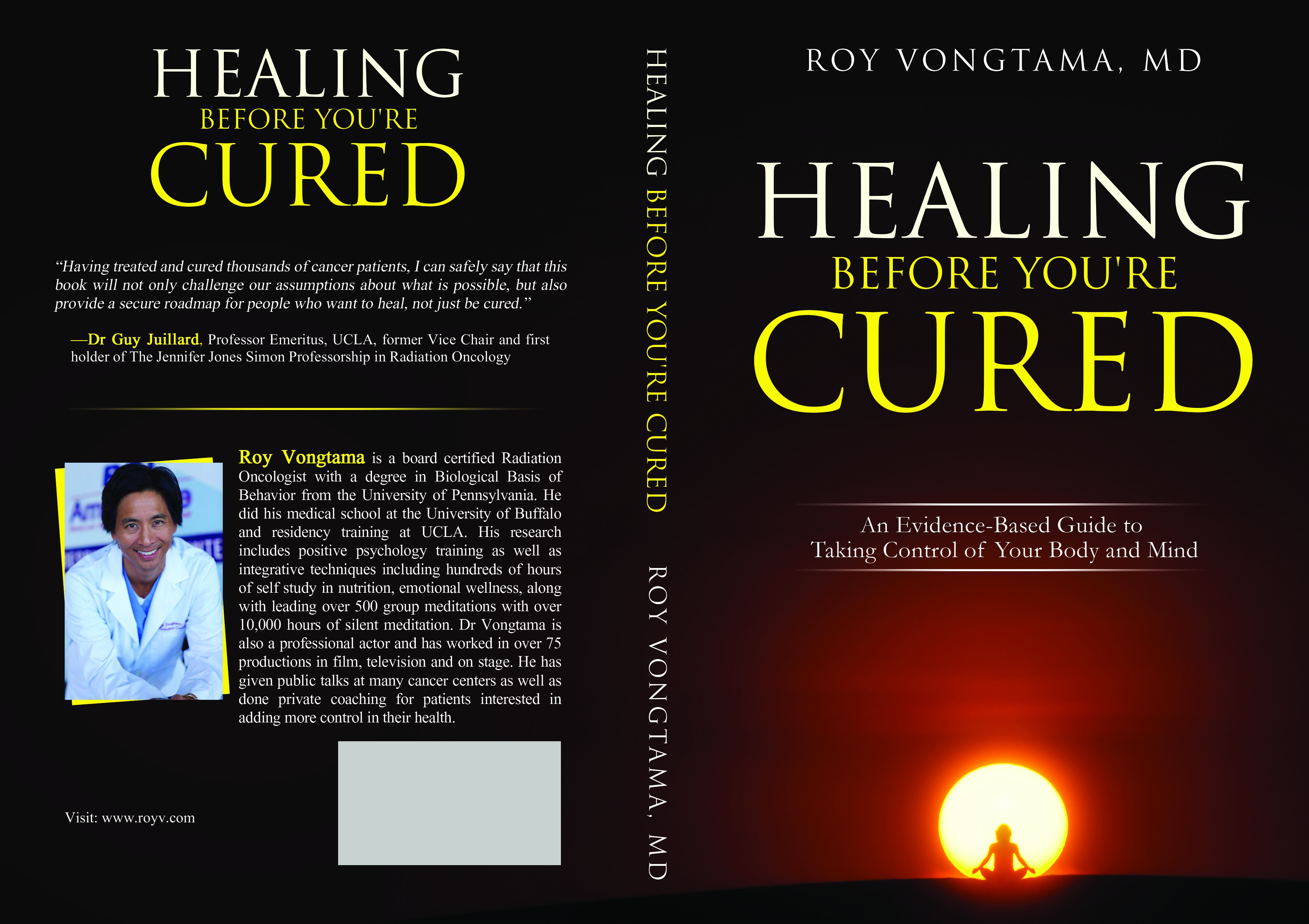 """Groundbreaking Health and Healing Book needs a Groundbreaking Cover!"""