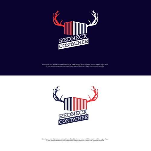 rust logo redneck container