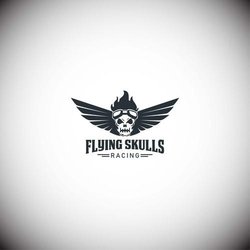 Logo Flying Skulls
