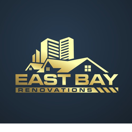 Strong logo for residential renovation company,