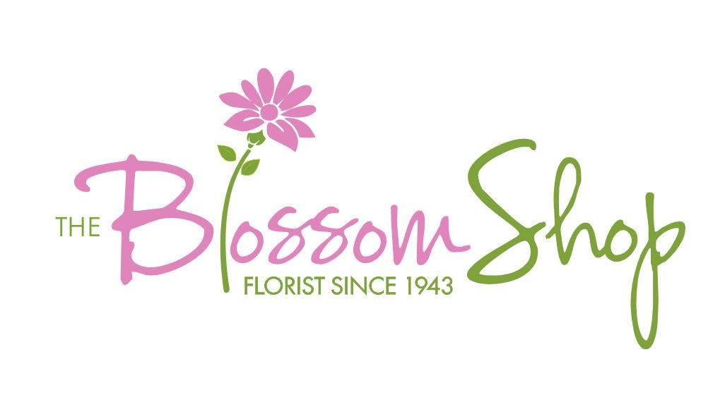 logo for The Blossom Shop