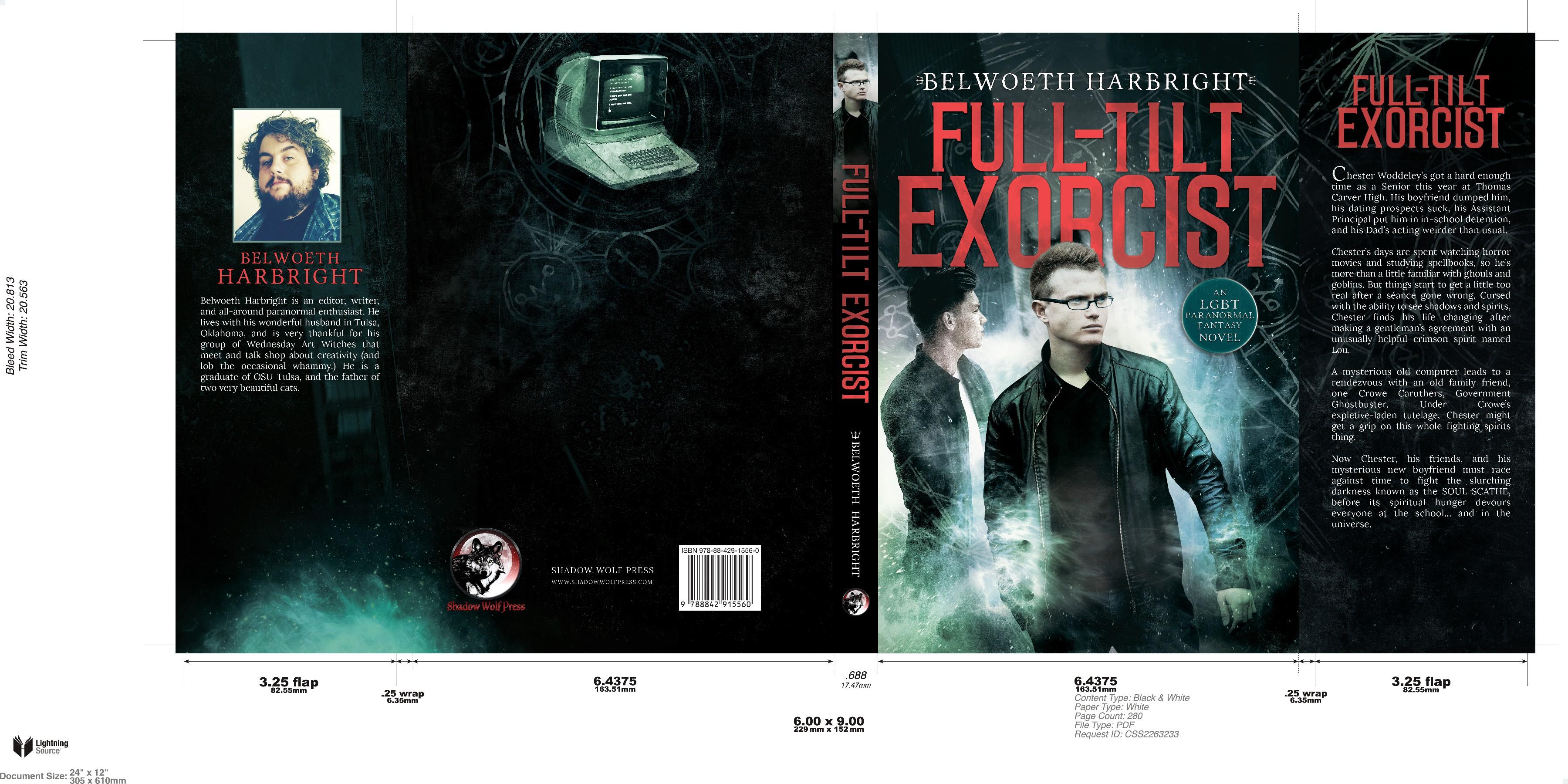 LGBT Paranormal Fantasy Book Cover Contest
