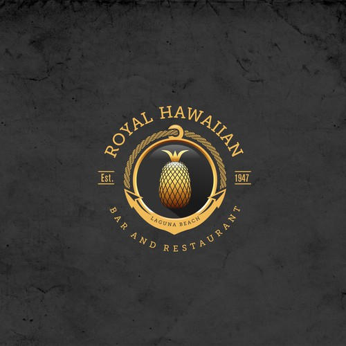 Royal Hawaiian Logo Concept