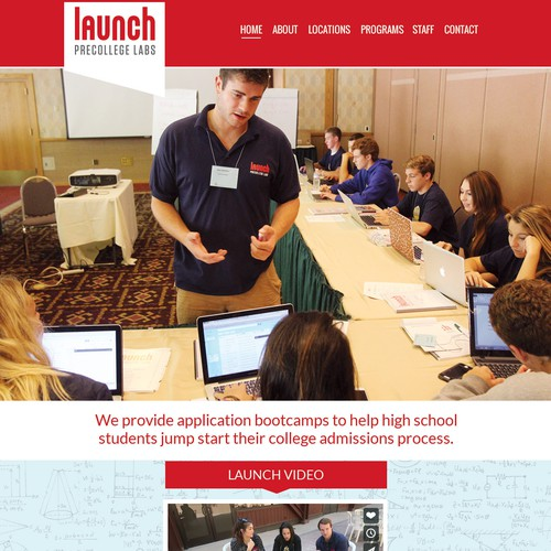 website for launchbootcamp
