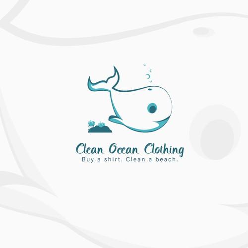 Ocean inspired logo