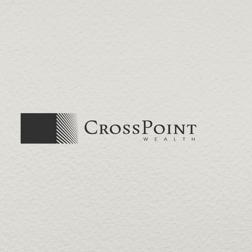 Bold minimalist concept for wealth management company