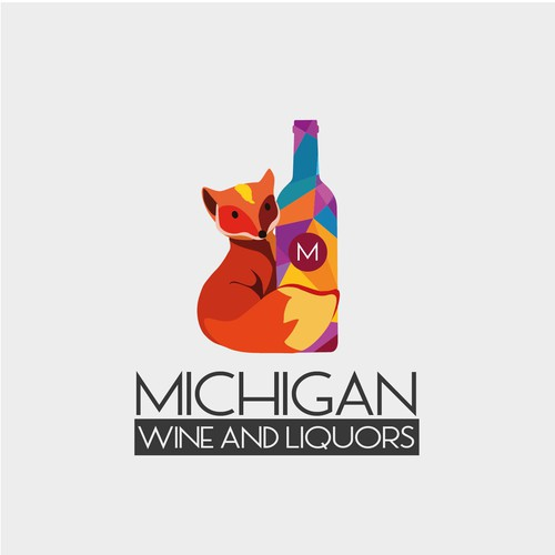 Logo - Michigan Wine and Liquors 03