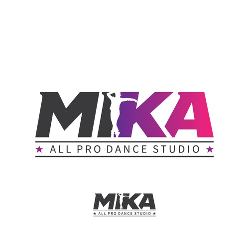 Bold dance studio logo