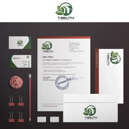 Logo & Brand Identity for experts in construction damage assessment, building biologists and energy consultants