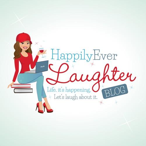 Logo concept for a blogger