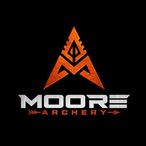 Logo design proposal for archery range and shop.