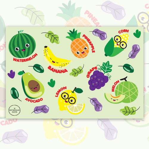 Disposable Children's Placemat