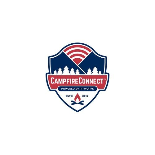 CampfireConnect Logo Design