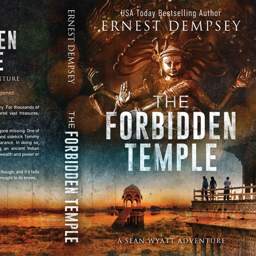 """The Forbidden temple"" by Ernest Dempsey"