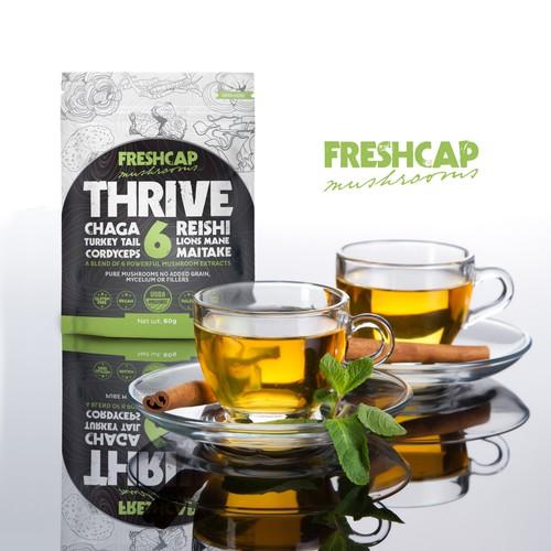 Label design for TRIVE 6