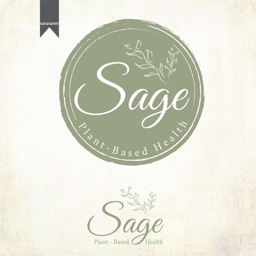 Sage Plant-Based Health looking for a classic, yet simple logo!